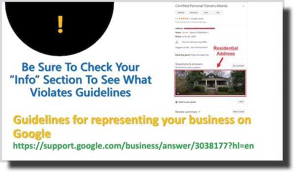Guidelines to Represent your business on Gogle